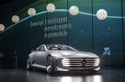 mercedes benz concept iaa revealed  frankfurt show autocar