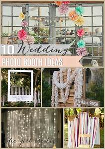 10 diy wedding photo booths the girl creative for Photo booth design ideas