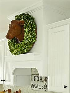 Best 25 cow head ideas on pinterest deer skull decor for Kitchen cabinets lowes with deer head wall art