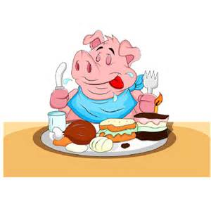 Funny Cartoon Pig Clip Art