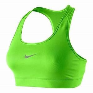 Neon Green Sports Bra
