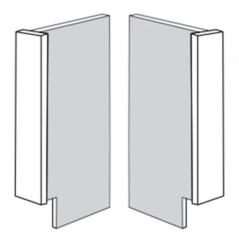 Woodcraft Custom Kitchen Cabinet End Panels
