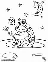 Alien Coloring Pages Space Galaxy Colouring Ufo Printable Adults Monster Aliens Sheets Bruno Mars Outer Rocket Preschoolers Hellokids Getcolorings Colorings sketch template