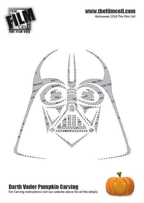 Darth Vader Pumpkin Template by Helpful Guide To Carving Your Own Darth Vader Pumpkin This