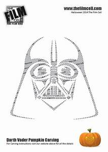 helpful guide to carving your own darth vader pumpkin this With darth vader pumpkin template