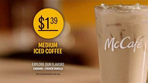 Cream or milk to taste. McDonald's McCafé Iced Coffee TV Commercial, 'Freshly Brewed, Creamy and Bold' - iSpot.tv