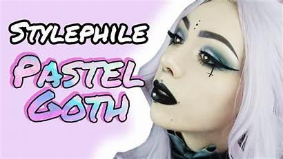 Goth Pastel Makeup Tutorial
