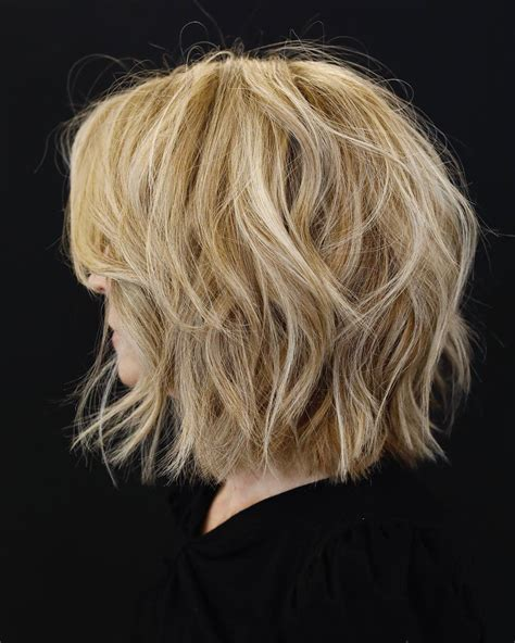 10 Easy Short Bob Haircuts for Thick Hair Women Short