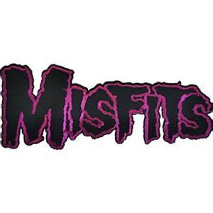 MISFITS - BAND LOGO - LARGE EMBROIDERED PATCH - BRAND NEW ...