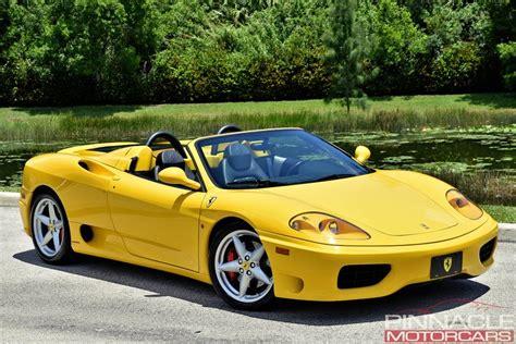 Find the best used 2001 ferrari 360 near you. 2001 Ferrari 360 SPIDER/SPIDER F1 | Pinnacle Motorcars