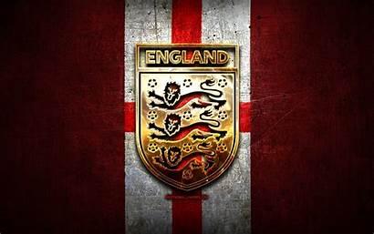 Football Team England National Background Uefa Metal