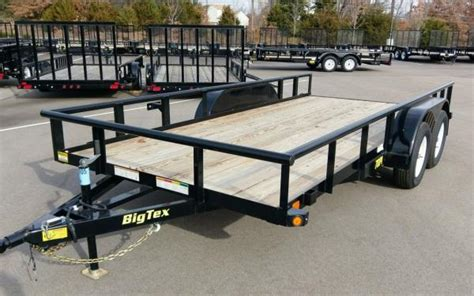 pi  tandem axle pipe top utility trailer silsbee