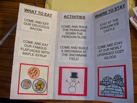 Brochure Templates For School Project by How To Make A Brochure For A School Project Brickhost