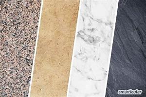 Granit Reinigen Essig : natursteinb den richtig reinigen und pflegen einfach und nat rlich ~ Orissabook.com Haus und Dekorationen