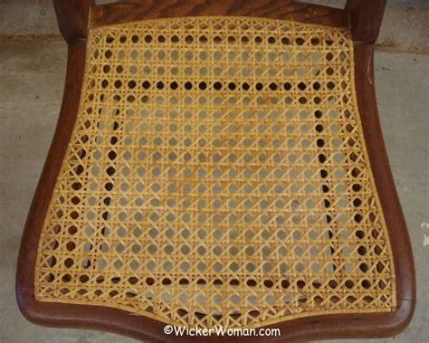 need your cane seat rewoven get chair caning repair help
