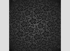 Black floral backgrounds 02 vector Free download
