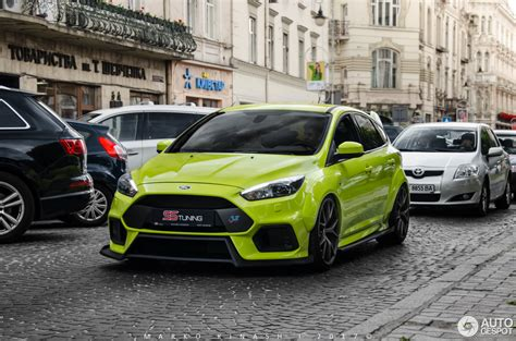 Tuned Focus Rs by Ford Focus Rs 2015 Ss Tuning 15 June 2017 Autogespot