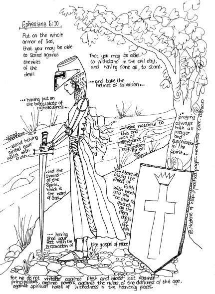 armor  god summer bible activity