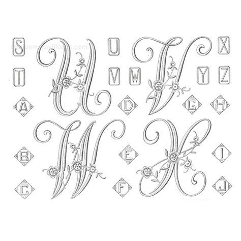 patrones de letras para bordar a maquina imagui