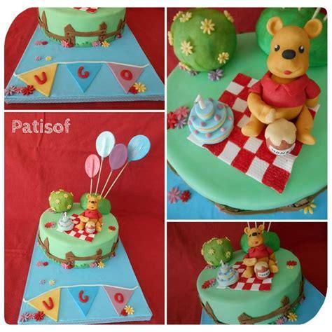 ourson en pate a sucre g 226 teau le pic nic de winnie l ourson en p 226 te 224 sucre patisof cakes