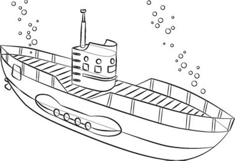 How To Draw A Big Boat Step By Step by 6 Add The Touches How To Draw Submarines In 6