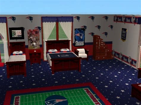 mod  sims  england patriots set  firefly