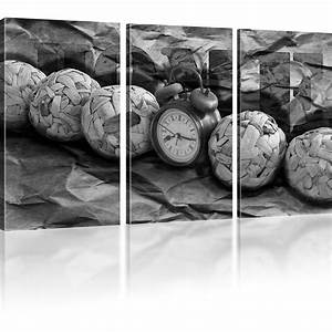 Kunstdruck Auf Leinwand : bilder uhr wandbild wecker kunstdruck auf leinwand zeit leinwandbild home ebay ~ Eleganceandgraceweddings.com Haus und Dekorationen