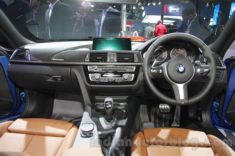 2016 bmw dashboard 2016 bmw 3 series facelift dashboard indian autos blog