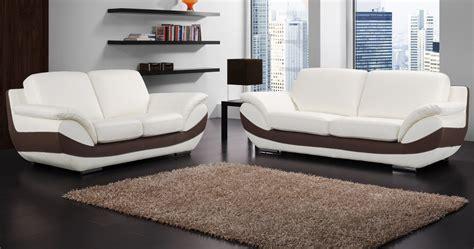 canapé moderne cuir canapé bruno personnalisable sur univers du cuir