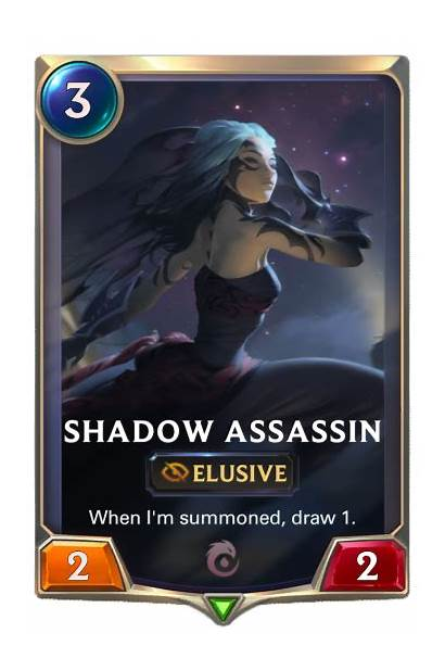Runeterra Legends Assassin Shadow Heimerdinger Disciple Crimson