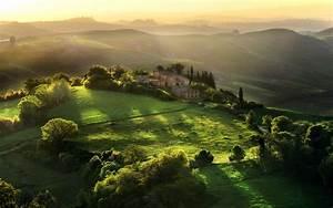 Marvelous scenery of tuscany, italy