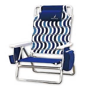 nautica 174 beach chair and umbrella collection bed bath