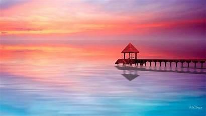 Pastel Backgrounds Wallpapers Desktop Laptop Colors Sunset
