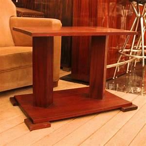 Kleiner Gartenzaun Holz : 01668 kleiner art deco beistelltisch aus holz wandel antik ~ Articles-book.com Haus und Dekorationen