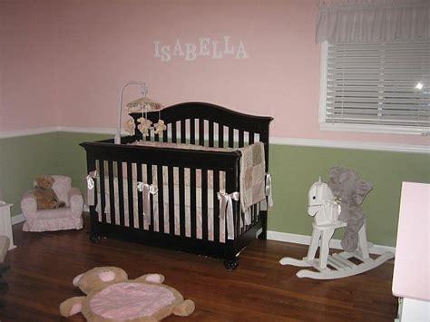 Nursery Q Chair Rails
