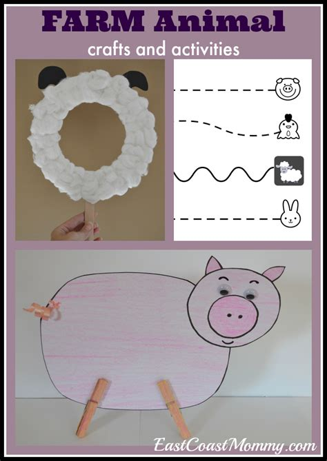 east coast mommy preschool theme farm animals