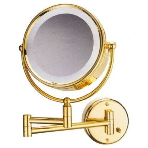 gold lighted makeup mirror gold lighted makeup mirror