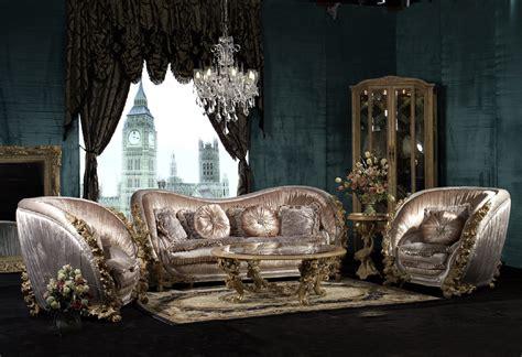 piece george versailles luxury sofa set