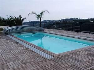 kit margelle de piscine en pierre reconstituee 6 x 12 ml With margelle piscine en bois