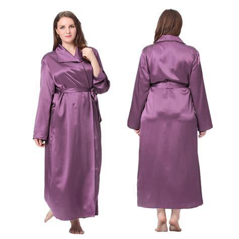 amazon robe de chambre femme robe de chambre femme en soie 22 momme grande taille lilysilk