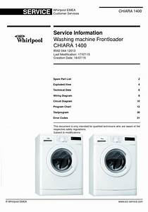 This Is The Original Washing Machine Service Documentation