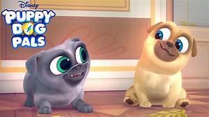 """FUNNY Pug Cartoon COMES TO DISNEY! """"Puppy Dog Pals"""" — Pug ..."""