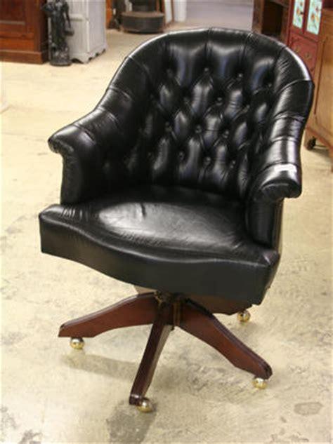 fauteuil de bureau anglais nos meubles antiquités brocante vendus