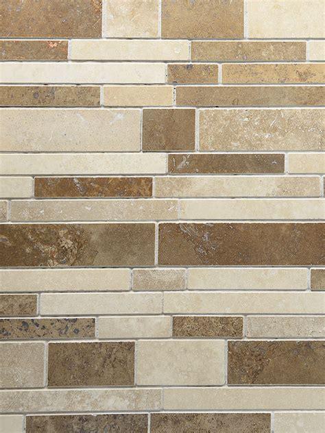 travertine subway tile travertine subway mix backsplash tile ivory beige brown