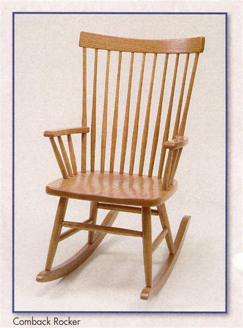 amish rocking chairs amish chair oak comback rocker