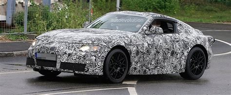 2018 Toyota Supra Spied Testing In Germany, Expect It In