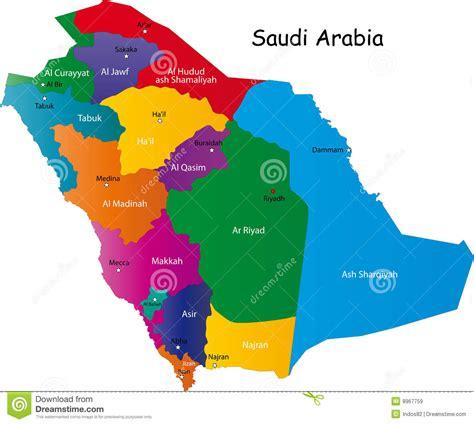 Carte De Image Libre by Carte De L Arabie Saoudite Images Libres De Droits Image