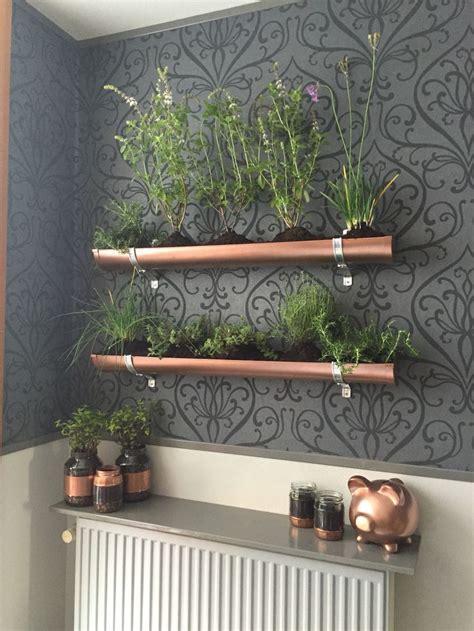 Gutter Vertical Garden by 25 Best Ideas About Pvc Gutters On Flowers