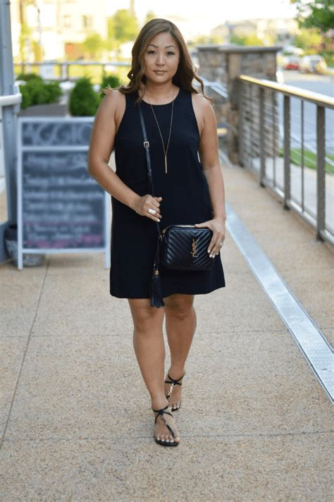 classicly chic lbd ysl occasionally luxe