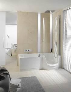 Fliesen Aktuelle Trends : gro formatige wand und bodenfliesen in creme farbe bathroom pinterest badezimmer bad und ~ Markanthonyermac.com Haus und Dekorationen